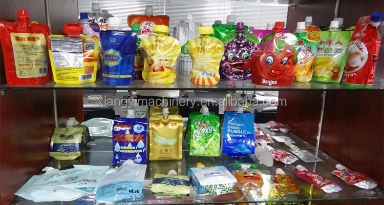 Doypack Spout Pouch Filling and Capping Machine in Shanghai