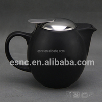 300ml Ceramic Teapot With Stainless Steel Strainer