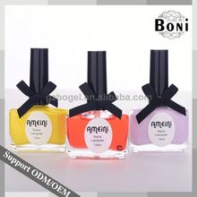Top Quality Oem/Odm Private Label Nail Polish Round 15Ml