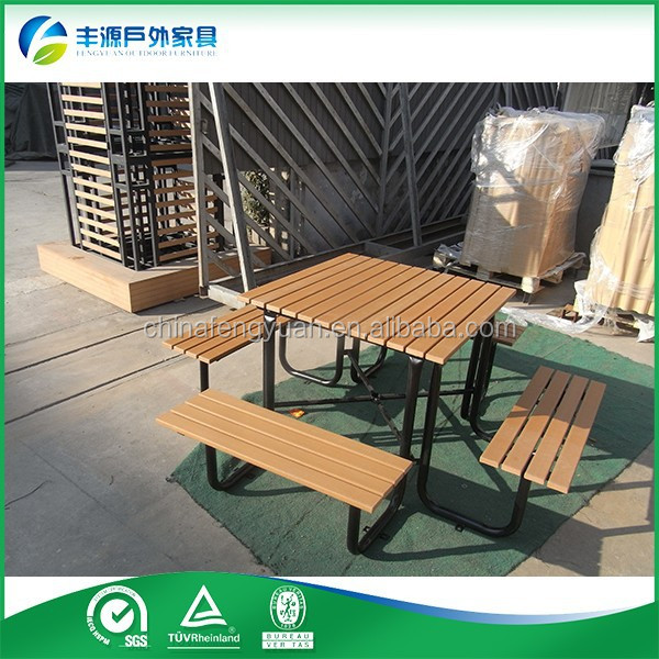 Outdoor Picnic Table Hideaway Dining Table And Chair Set