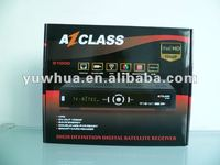2012 az class s1000 decodificador azfox s2s full hd 1080p for chile