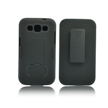 High quality dual kickstand phone holster for Samsung galaxy win/i8552/i8550/i8558 combo case