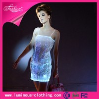 luminous led light pakistan fashion women girls short frocks dress 2015