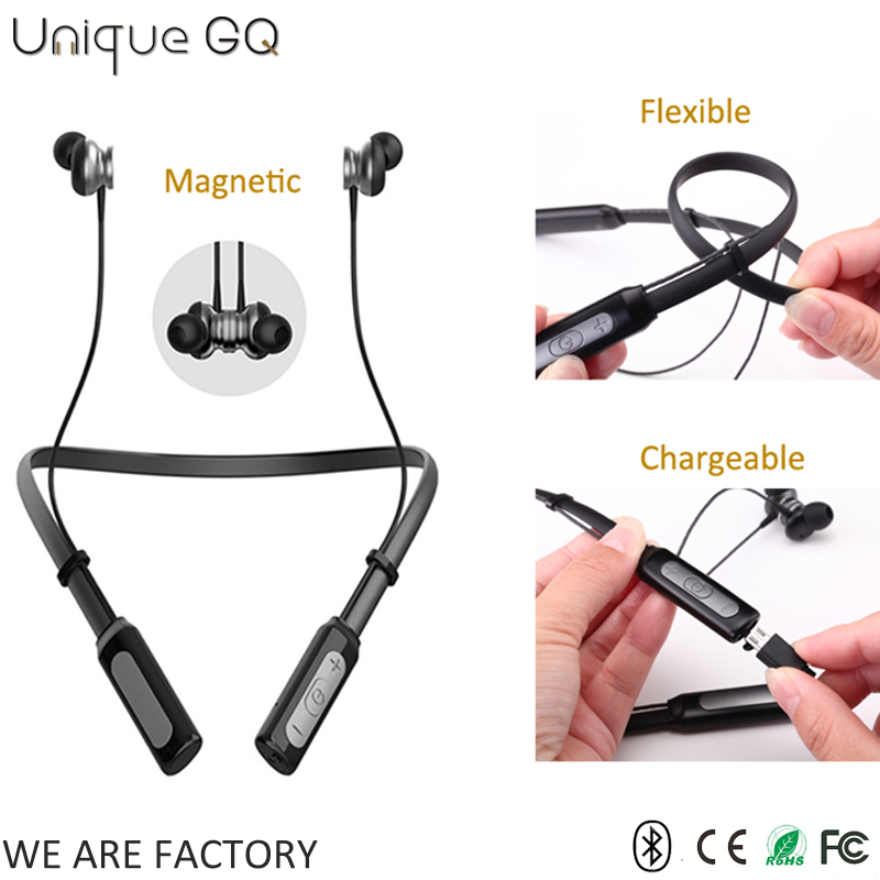 China best bulk items BQB magnetic neckband bluetooth earbuds for sport
