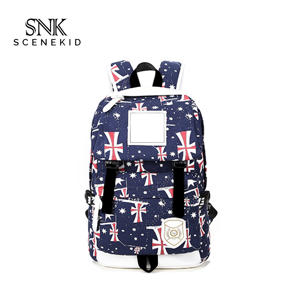 Hot Selling New Fashion Super Low MOQ Multifunctional Military Canvas Backpack Bag
