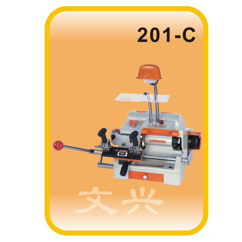 Portable Wenxing 201-C Auto Key Cutting Machine Taiwan Used best key cutting machine for sale