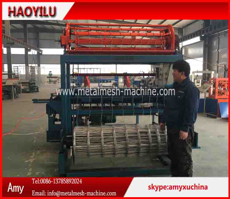 Hinge joint fence machine , field fence mesh machine