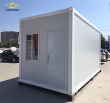 Shipping container mobile tiny hotel prefabricated container house