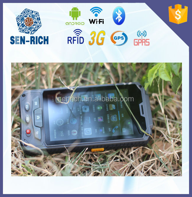 Touch Screen Handheld Android PDA Terminal with RFID,Barcode Scanner,Wireless,Camera,Fingerprint