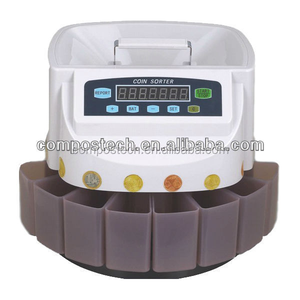 High quality euro coin counting machines/manual coin counter