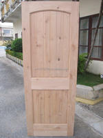 Engineered Wooden Knotty Red Alder Doors