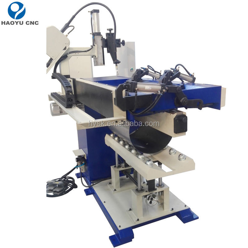Automatic inert gas/argon shield straight seam welding machine
