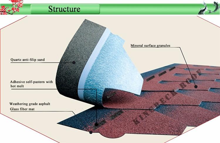 Build Roof Material Asphalt Shingles Bitumen Fiberglass