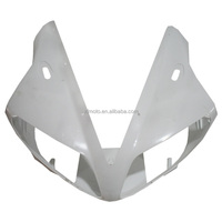 UPPER FRONT FAIRING COWL NOSE ABS Plastic FOR YAMAHA YZF R1 YZF-R1 2002 2003 R1