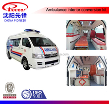 toyota hiace left hand drive ambulance interior conversion