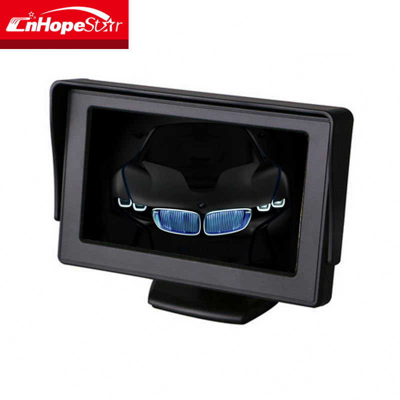 TFT lcd monitor 4.3 inch car tft lcd dashboard monitor for sale