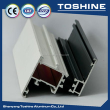 6063 T5 according to drawings shape aluminium channel for aluminium partition and aluminium office partition system