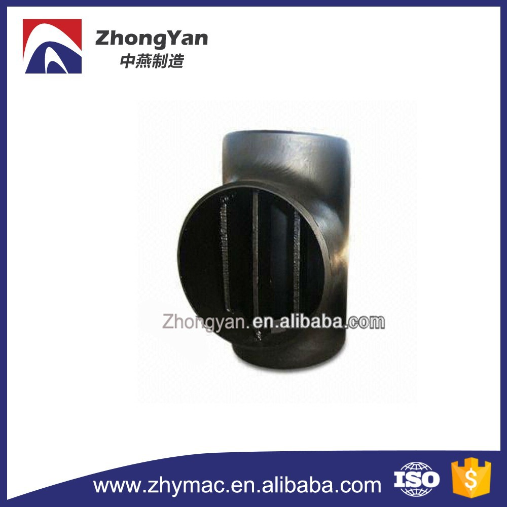High Quality ANSI B16.9 carbon steel Pipeline Barred Tee