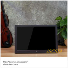 13'' inch plastic hd video free download digital guitar photo frame