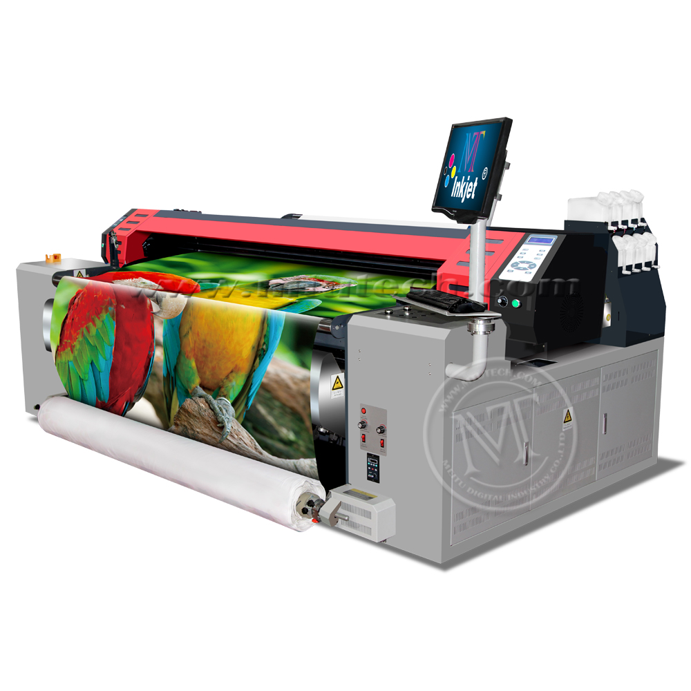 Graphic Print Fabric Large Format Textile Sublimation Printer