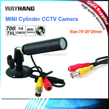 Mini Security CCTV Camera Outdoor Waterproof Bullet Sony 700TVL Camera CMOS Color 8mm Lens For Analog CCTV DVR WAYHANG