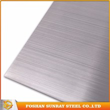 Low price hairline types of steel sheet for columns