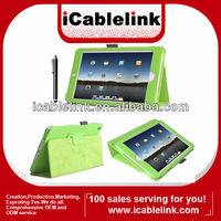 New Version with colorful !!! Premium Folio Case / Cover and Flip Stand For New Apple iPad Mini