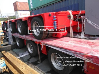 ChinaTrailers 10 axle hydraulic suspension Extendable Trailers