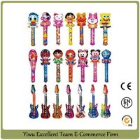 cartoon clap balloon stick balloon