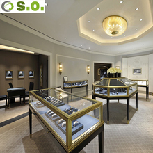 Factory directly sale top end contemporary jewelry displays for retail store
