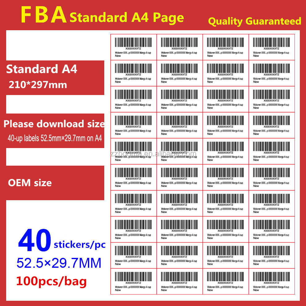 amazon labels fba