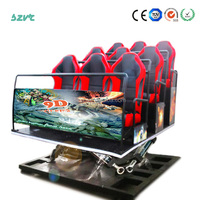 Hot Sale 3d 4d 5d 6d 7d Simulator Motion Truck Mobile 5d Theater 5d Cinema