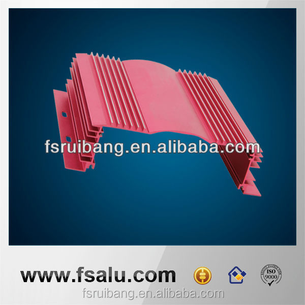 factory price aluminum extrusion profiles products
