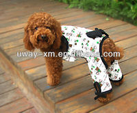 New arrival rabbit design pet clothes for dogs with bowknot ,made of 100% cotton