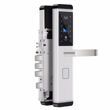 Fingerprint scanner sensor smart card door lock for outdoor
