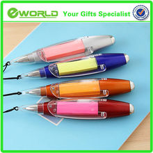 Promotional Eco-friendly LED hanging Ball Pen