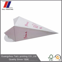Fashion design small disposable chip paper cups