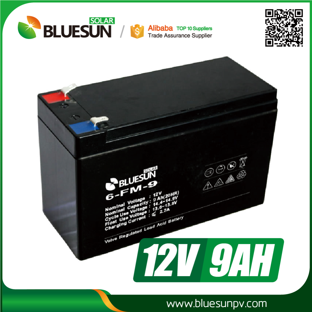 12v 8ah 9ah sealed gel battery widely used for electric toy car made in china