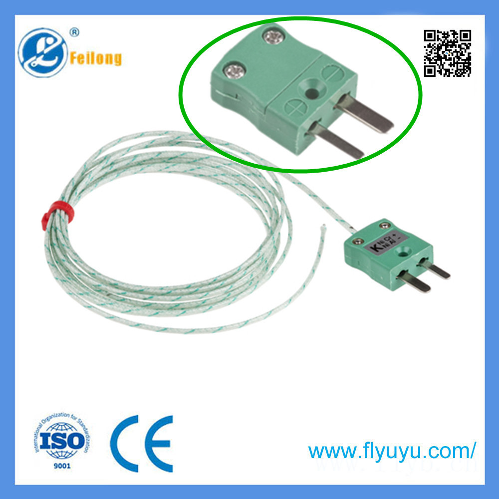 Feilong Fine Wire Exposed Junction Thermocouple - PTFE/PFA Insulated