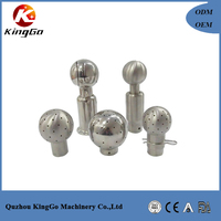 Food machinery stainless steel tank cleaning equipment