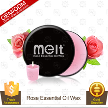 Good For Health Rose Spa Essential Oil Body Massage Candle Skin Care Product