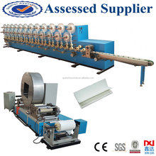 Automatic folding type cigarette paper machine for slitting gluing smoking paper for sale