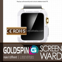 GOLDSPIN 2015 Treding Hot New Product For Smartwatch Tempered Glass Screen Protector With Design