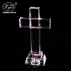 Wholesale Crystal Glass Cross Crystal Craft