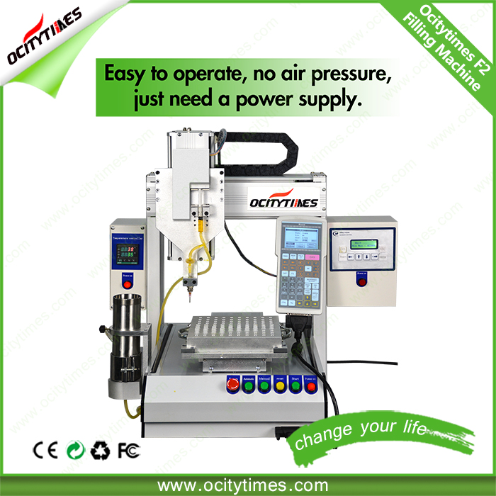 New Ocitytimes F2 mini filling machine 2016 china factory capsule filling machine