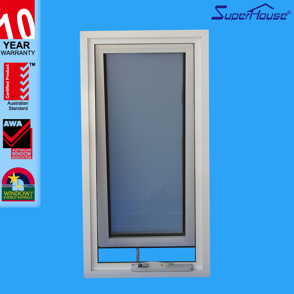 Superhouse aluminum awning parts latest window designs with AS2047