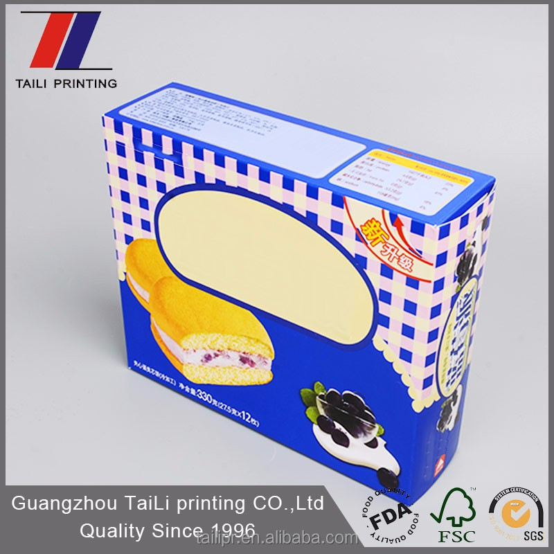 Customized cardboard cookie gift boxes wholesale