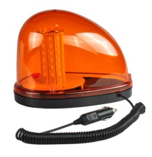 Super Bright Amber LED Beacon Warning light ,DC12-24V Strobe and Rotating Lamp
