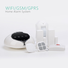 OEM/ODM Golden Security professional WIFI alarm system, 3G/GSM WiFi home alarm S1 with smart socket for home automation
