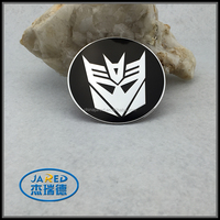 Transformers Car sticker Round Transformers Car Emblem